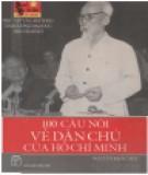 Hồ Chí Minh - 100 câu nói về dân chủ: Phần 2