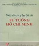 Một số chuyên đề về tư tưởng Hồ Chí Minh: Phần 2