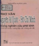 Ebook Thơ văn Nguyễn Ái Quốc - Hồ Chí Minh trong nghiên cứu phê bình (Tình hình tư liệu, hướng tiếp cận, những vấn đề): Phần 1 - Nguyễn Xuân Lạn