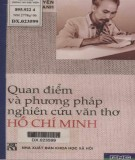 Quan điểm và phương pháp nghiên cứu văn thơ Hồ Chí Minh: Phần 1