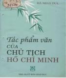 Ebook Tác phẩm văn của Chủ tịch Hồ Chí Minh: Phần 2 - Hà Minh Đức