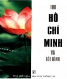 Ebook Thơ Hồ Chí Minh và lời bình: Phần 1 - NXB Văn hóa Thông tin