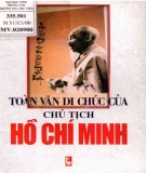 Ebook Toàn văn di chúc của Chủ tịch Hồ Chí Minh: Phần 1 - NXB Thanh niên
