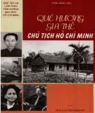 Ebook Quê hương và gia thế Chủ tịch Hồ Chí Minh: Phần 1 - Trần Minh Siêu