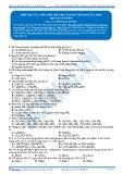 Tính chất của amin, điều chế amin, so sánh tính bazo của amin (Bài tập tự luyện)