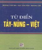 Từ điển thông dụng Tày - Nùng - Việt: Phần 1