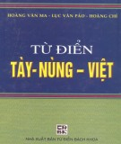 Từ điển thông dụng Tày - Nùng - Việt: Phần 2