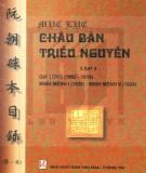 Ebook Mục lục Châu bản triều Nguyễn (Tập 1): Phần 1 - NXB Văn hóa Thông tin
