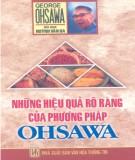 Phương pháp Ohsawa và những hiệu quả rõ ràng: Phần 1
