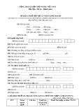 Mẫu số: 01/CNKD - Tờ khai thuế đối với cá nhân kinh doanh