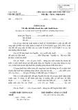 Mẫu số: 01/TBTDK-CNKD - Thông báo về việc dự kiến doanh thu, mức thuế khoán