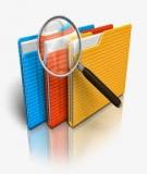 Tài liệu tập huấn công tác văn thư lưu trữ