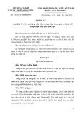 Thông tư số 05/2015/TT-BNNPTNT