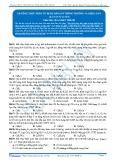 Xác định công thức phân tử hợp chất hữu cơ bằng phương pháp thông thường và biện luận (bài tập tự luyện)