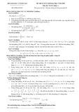 Đề thi tuyển sinh đại học năm 2009 môn Toán, khối A (Đề chính thức) - Bộ GD&ĐT
