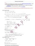 Hệ phương trình tổng hợp - Phạm Thị Minh Ngọc