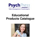Educational products catalogue