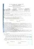 Đề thi Tin học trẻ tỉnh Hà Tĩnh lần thứ 15 năm 2012 Bảng B - Khối THCS