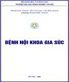 Giáo trình Bệnh nội khoa gia súc: Phần 1 - PGS.TS. Phạm Ngọc Thạch (chủ biên)