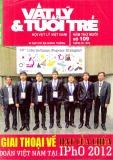 Tạp chí Vật lý & Tuổi trẻ số 109 (Tháng 9/2012)
