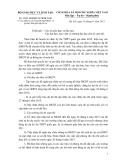 Công văn số 3030 /BGDĐT-KTKĐCLGD