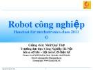Bài giảng Robot công nghiệp: Chương 4 - Nhữ Quý Thơ (ĐH Công nghiệp Hà Nội)