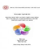 Tài liệu Tập huấn phương pháp tiếp cận phát triển cộng đồng dựa vào nội lực và do người dân làm chủ (Phương pháp tiếp cận ABCD) - Nguyễn Đức Vinh, Đinh Thị Vinh (biên soạn)