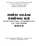 Ebook Niên giám thống kê 2012: Phần 2 - NXB Thống kê