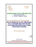 Báo cáo tổng kết khoa học và kỹ thuật đề tài: Hợp tác nghiên cứu và phát triển mô hình vật lý thí nghiệm công trình đầu mối và hệ thống điều khiển đo đạc tự động trong phòng thí nghiệm