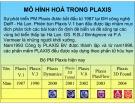 Bài giảng Mô hình hoá trong PLAXIS