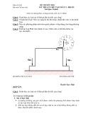 Đề thi môn học Kỹ thuật chế tạo máy 2 - HK121 (kèm đáp án)