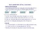 Bài giảng Microsoft Word 2003 - Bài 05: Định mốc dừng (Tab stop)