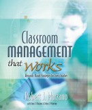 Classroom management that works (Research - based strategies for every teacher): Part 1