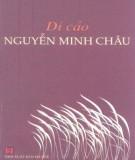 Ebook Di cảo Nguyễn Minh Châu: Phần 1 - NXB Hà Nội