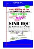Ebook Tuyển tập các đề thi tuyển sinh vào lớp 10 trường THPT chuyên môn Sinh học - Nguyễn Văn Công