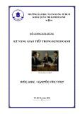 Bài giảng Kỹ năng giao tiếp trong kinh doanh