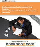 Ebook English grammar for economics and business for students and professors with English as a foreign language: Part 1 - Patricia Ellman