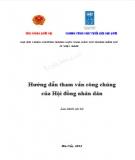 Ebook Hướng dẫn tham vấn công chúng của Hội đồng nhân dân