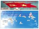 Bài thuyết trình môn Đường lối cách mạng của Đảng Cộng Sản Việt Nam