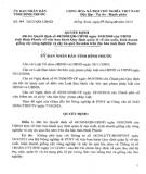 Quyết định số 41/2013/QĐ-UBND