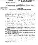 Nghị quyết số 93/2015/QH13
