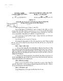 Thông tư số 47/2013/TT-BNNPTNT