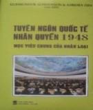 Mục tiêu chung của nhân loại - Tuyên ngôn quốc tế nhân quyền 1948: Phần 2