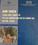 Các quyền dân sự và chính trị (ICCPR, 1966) - Công ước quốc tế: Phần 1
