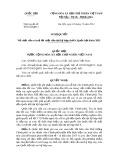 Nghị quyết số: 87/2014/QH13