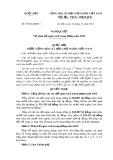 Nghị quyết số: 79/2014/QH13