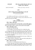 Luật số: 69/2014/QH13