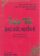 Ebook Lão Tử - Đạo đức huyền bí: Phần 1 - Giáp Văn Cường (dịch)