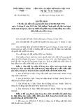 Quyết định số: 35/2015/QĐ-TTg