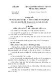 Nghị quyết số: 85/2014/QH13